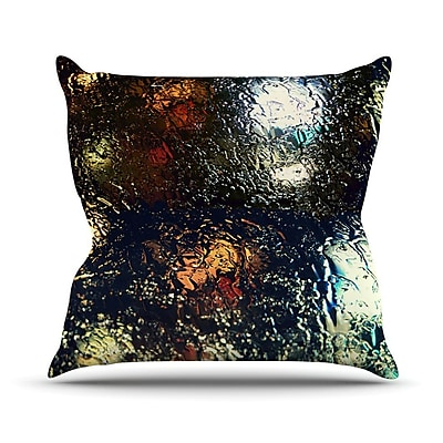 KESS InHouse Blinded by Robin Dickinson Throw Pillow; 20'' H x 20'' W x 4'' D