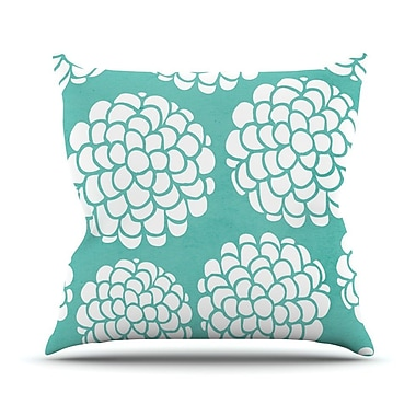 KESS InHouse Hydrangea's Blossoms by Pom Graphic Throw Pillow; 26'' H x 26'' W x 5'' D