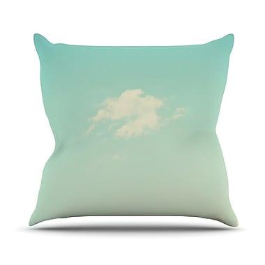 KESS InHouse Cloud 9 by Libertad Leal Sky Throw Pillow; 18'' H x 18'' W x 3'' D