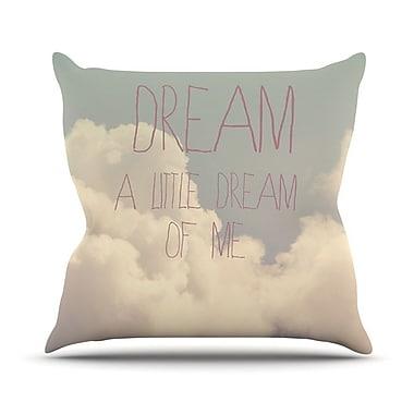 KESS InHouse Dream of Me by Rachel Burbee Throw Pillow; 26'' H x 26'' W x 5'' D