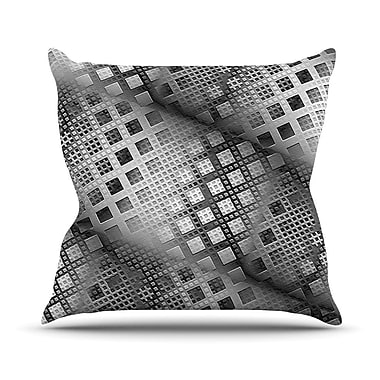 KESS InHouse Array Decay by Michael Sussna Throw Pillow; 16'' H x 16'' W x 3'' D