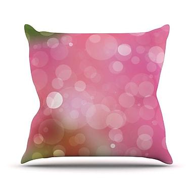 KESS InHouse Gypsy Bokeh Throw Pillow; 16'' H x 16'' W x 3'' D