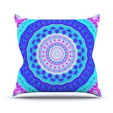 KESS InHouse Summer Colors by Iris Lehnhardt Throw Pillow; 26'' H x 26'' W x 5'' D