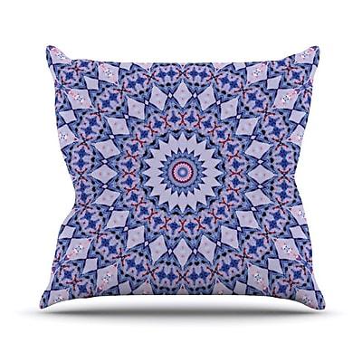 KESS InHouse Kaleidoscope by Iris Lehnhardt Circle Throw Pillow; 26'' H x 26'' W x 5'' D
