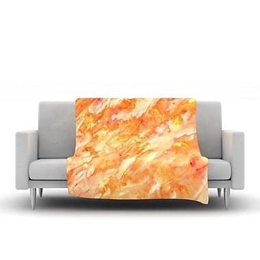 KESS InHouse Autumn by Rosie Fleece Throw Blanket; 40'' H x 30'' W x 1'' D