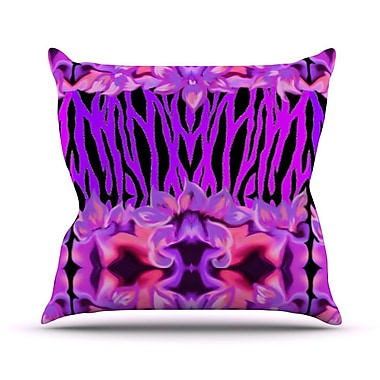 KESS InHouse Cezarra by Artist Name Throw Pillow; 18'' H x 18'' W x 3'' D