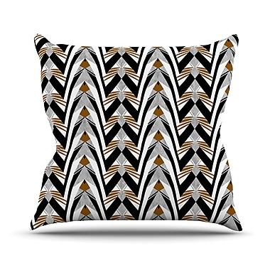 KESS InHouse Wings by Vikki Salmela Throw Pillow; 16'' H x 16'' W x 3'' D
