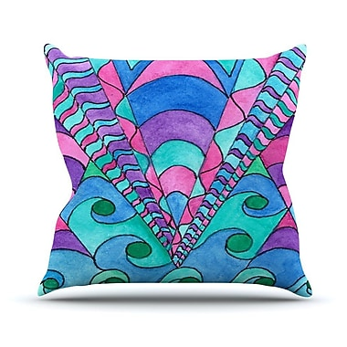 KESS InHouse Gatsby Inspired by Rosie Brown Throw Pillow; 20'' H x 20'' W x 4'' D