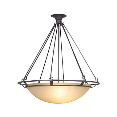 MarianaHome Ecliptic 3-Light Inverted Pendant