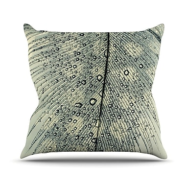 KESS InHouse Feather Light by Ingrid Beddoes Throw Pillow; 20'' H x 20'' W x 4'' D