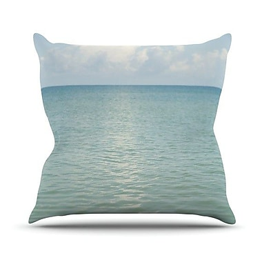 KESS InHouse Cloud Reflection by Catherine McDonald Throw Pillow; 18'' H x 18'' W x 1'' D
