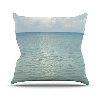 KESS InHouse Cloud Reflection by Catherine McDonald Throw Pillow; 20'' H x 20'' W x 1'' D