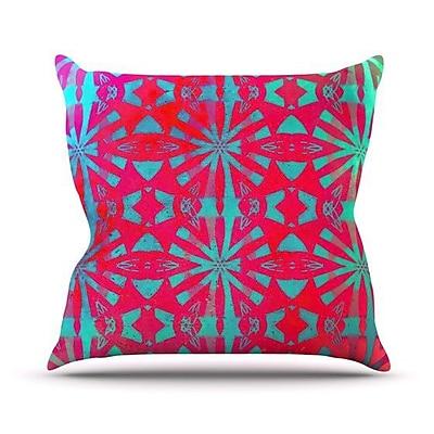 KESS InHouse Aloha by Alison Coxon Throw Pillow; 26'' H x 26'' W x 1'' D