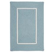 Colonial Mills Doodle Edge Light Blue Border in Border Indoor/Outdoor Area Rug; 5' x 7'