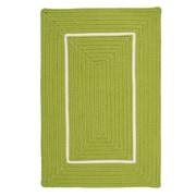 Colonial Mills Doodle Edge Bright Green Border in Border Indoor/Outdoor Area Rug; 5' x 7'