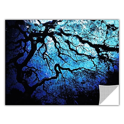 ArtWall ArtApeelz 'Japanese Ice Tree' by John Black Photographic Print Removable Wall Decal