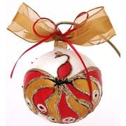 Eva Design Peacock Ornament