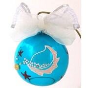 Eva Design Shell Ornament