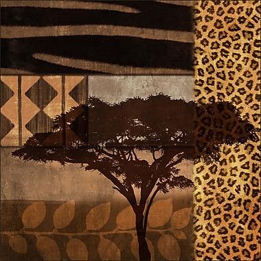 PTM Images Safari Gicl e Framed Graphic Art