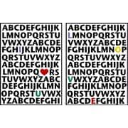 PTM Images ABC's Love 2 Piece Framed Textual Art Set