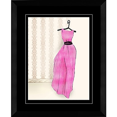 PTM Images Dress II Framed Graphic Art