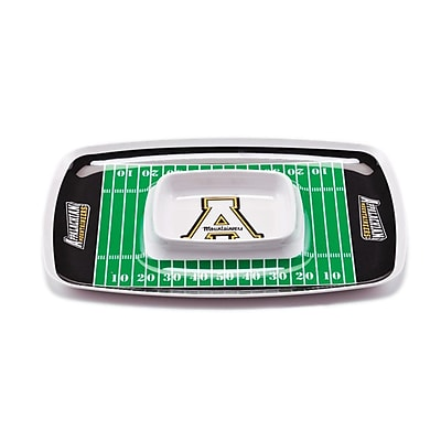 BSI Products NCAA Melamine Chip and Dip Platter; Appalachian State