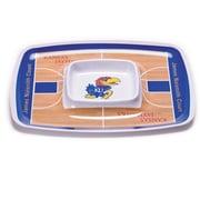 BSI Products NCAA Melamine Chip and Dip Platter; Kansas Jayhawks