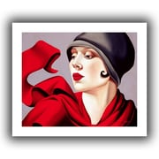 ArtWall 'Autumn Zephyr' by Catherine Abel Graphic Art on on Wrapped Canvas; 20'' H x 24'' W