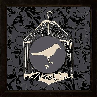 PTM Images Birdhouse II Framed Graphic Art
