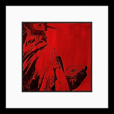 PTM Images Statue of Liberty I Framed Graphic Art