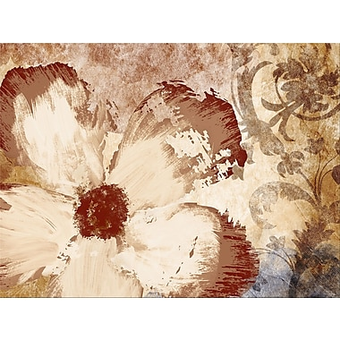 PTM Images Fall Florals Graphic Art on Wrapped Canvas