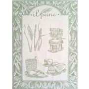 Mierco Pane Tea Towel (Set of 2); Green