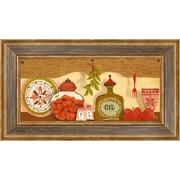 PTM Images Kitchen Shelf Framed Graphic Art
