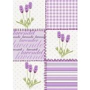 Mierco Lavendel Print Tea Towel (Set of 2)