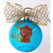 Eva Design Castle Ornament
