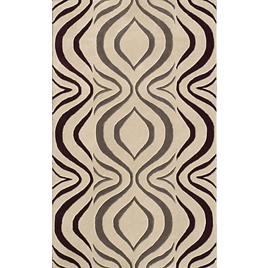 Noble House Cologne Gray Area Rug; 5' x 7'6''