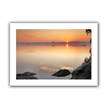 ArtWall Potomac Sunrise' by Steven Ainsworth Photographic Print on Rolled Canvas; 20'' H x 28'' W