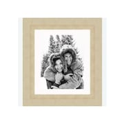 Frames By Mail 8'' x 10'' Champagne Frame in Distressed Gold