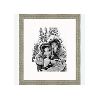 Frames By Mail 8'' x 10'' Frame in Distressed Silver Ornate