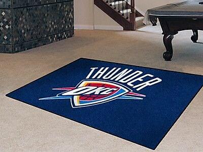 FANMATS NBA - Oklahoma City Thunder Doormat; 5' x 8' WYF078277356509