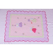 Bacati Fairyland Oversize Toddler Bed Quilt