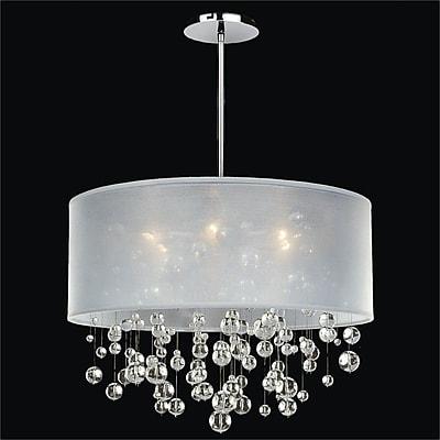 Glow Lighting Silhouette 3-Light Pendant; 12.5'' H x 18'' W