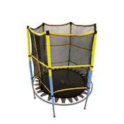 Upper Bounce Jumping Surface for 55'' Round Trampoline w/ Safety Enclosure- Net and Mat ONLY