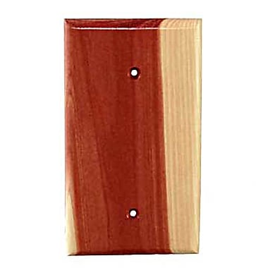 Sierra Lifestyles Traditional 1 Blank Unfinished; Tennessee Aromatic Cedar