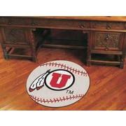 FANMATS NCAA University of Utah Baseball Mat