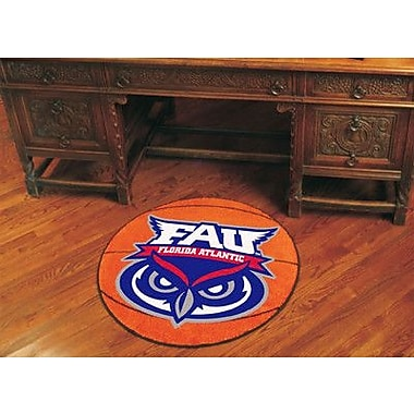 FANMATS NCAA Florida Atlantic University Basketball Mat