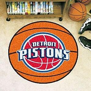 FANMATS NBA - Detroit Pistons Basketball Doormat