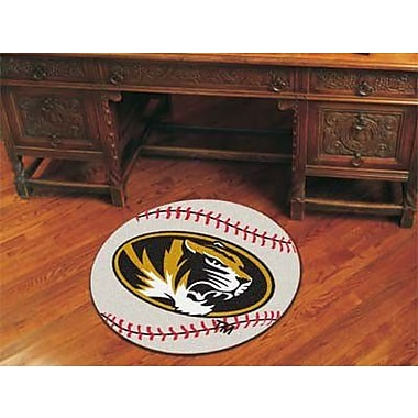 FANMATS NCAA University of Missouri Baseball Mat