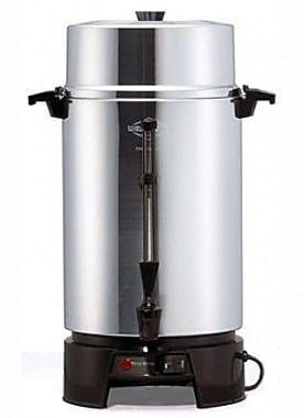 West Bend 100 Cup Aluminum Coffee Urn WYF078277328652