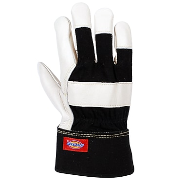 Dickies® Cowhide Leather Work Glove, 6 Pairs/Pack